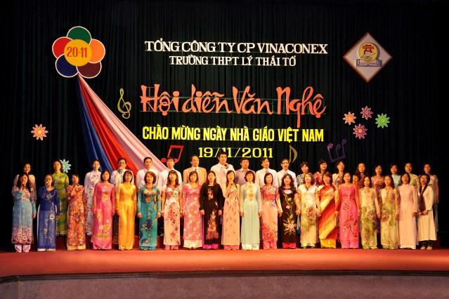 Hội diễn văn nghệ 20-11